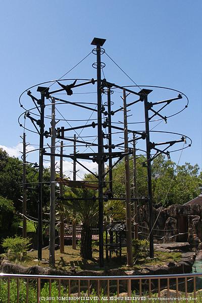 シロテテナガザル舎